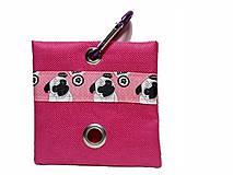 Pre zvieratká - Zásobník na WC vrecká Mops - 8756783_