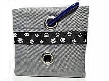 Pre zvieratká - Zásobník na WC vrecká šedý - 8756846_