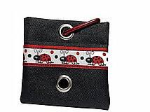 Pre zvieratká - Zásobník na WC vrecká Lienka - 8756877_