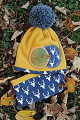 Detské čiapky - Jedinečný setík - 8756304_
