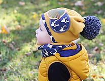 Detské čiapky - Jedinečný setík - 8756305_
