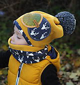 Detské čiapky - Jedinečný setík - 8756306_