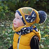 Detské čiapky - Jedinečný setík - 8756307_