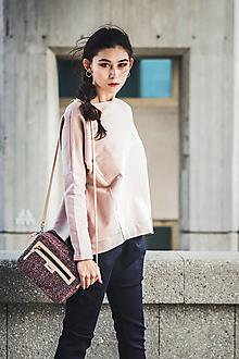 Kabelky - Beauty Tweedy pink - 8755597_