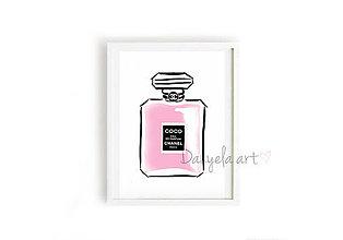 Obrazy - COCO CHANEL PARFUME framed print - 8757931_