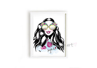 Obrazy - DG SUPER WOMAN framed print - 8757955_