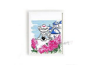 Obrazy - GIRLBOSS framed print - 8758007_