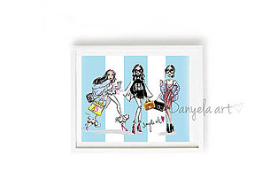 Obrazy - WOMENS SECRET framed print - 8758113_