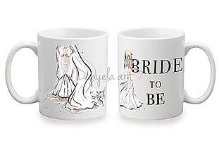Nádoby - BRIDE TO BE mug - 8758220_