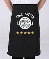 Iné oblečenie - Zástera - GRILL MAJSTER - 8759896_