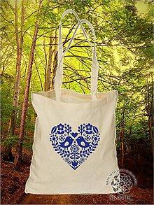 Nákupné tašky - Plátená Ekologická nákupná taška 002 - 8759998_