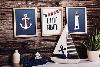 Detské doplnky - Pre malých námorníkov A - 3 set - 8757645_