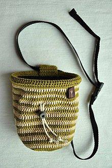 Iné tašky - vrecko na magnezium (Zelená) - 8757474_