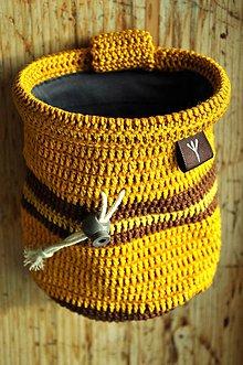Iné tašky - vrecko na magnezium (Žltá) - 8757507_