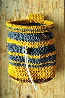 Iné tašky - vrecko na magnezium (Žltá) - 8757520_