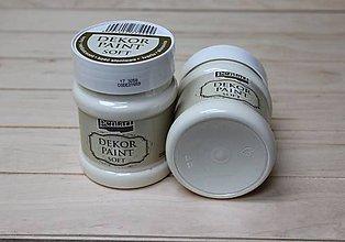 Farby-laky - Decor Paint Soft 230ml-slonovina - 8757017_