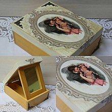 Krabičky - Vášeň v srdci ukrytá ... - 8757671_