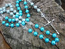 Iné šperky - TICHÁ CHVÍĽKA - ruženec - 8757977_