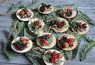 """Dekorácie - vianočné ozdoby - """"V objatí prírody"""" - 8759423_"""
