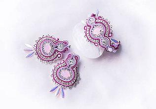 Sady šperkov - Like a rose - šujtášová sada - 8757948_