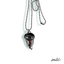 Náhrdelníky - Náhrdelník Medúza z nerezu - 8756372_