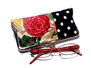 Taštičky - na okuliare /perá/ kozmetiku - 8762049_