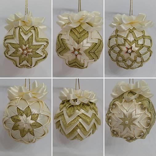 5861a69e1 Patchworkové gule na vianočný stromček / MichaelaJelenek - SAShE.sk ...