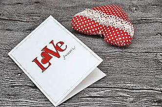 Papiernictvo - Love forever - 8765653_