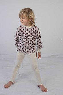 Detské oblečenie - Rastúce legíny - MERINO - výber farieb a veľkostí - 8762354_