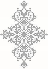 Pomôcky/Nástroje - Šablóna Ornament Delicate - 8761358_