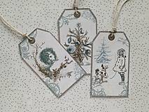 - Darčekové visačky Vianočné - 8765452_