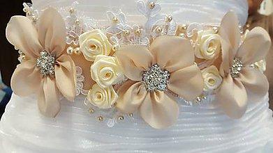 Opasky - Kvetinový opasok - 8764539_