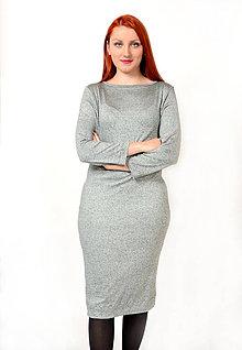 Šaty - Úpletové šaty - 8762633_