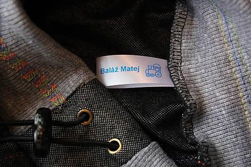 c5ea0407ee85 Saténové menovky   ETIKETKA - SAShE.sk - Handmade Detské oblečenie