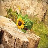Svietidlá a sviečky - Slnečnica na úsvite - svietnik na čajovú sviečku - 8763644_