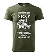 Traktorista - pánske tričko