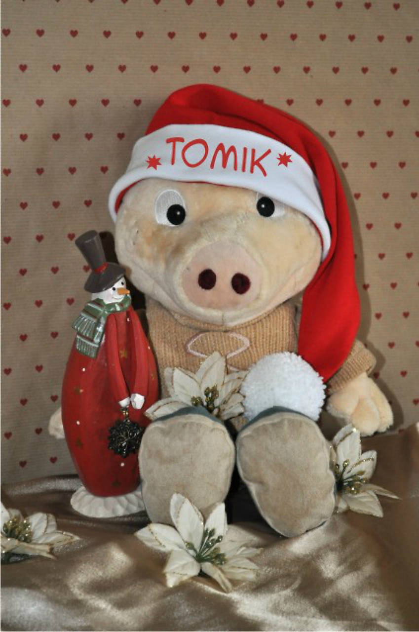 e3a969261 Mikulášska čiapka s menom / trickoland - SAShE.sk - Handmade Čiapky