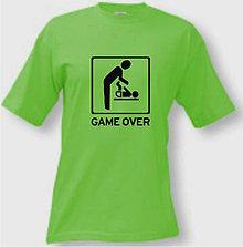 Oblečenie - Game Over - 8760995_