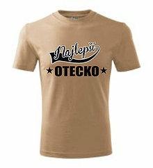 Oblečenie - Najlepš otecko - pánske tričko - 8762588_