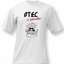 Oblečenie - Otec v zácviku - pánske tričko - 8762960_