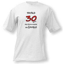 Oblečenie - Vyzerám skvelo - na narodeniny pánske tričko - 8763071_