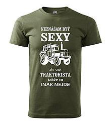 Oblečenie - Traktorista - pánske tričko - 8763143_
