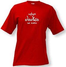 Oblečenie - Najlepší dedko na svete - pánske tričko - 8763306_