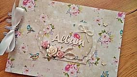 Papiernictvo - romantický fotoalbum A5, skladom - 8763664_