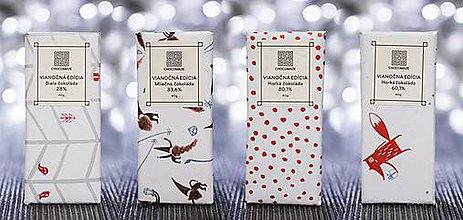 Potraviny - Vianočný balík 4 čokolád - 8762314_