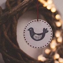 Dekorácie - Vianoce v Škandinávii (Sliepočka) - 8764592_