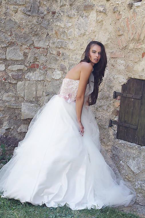 Svadobné šaty Rosee   ceccilia - SAShE.sk - Handmade Šaty 2066fbece32