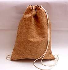 Batohy - vrecko na chrbát - korok - 8766071_