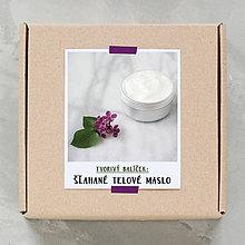 Návody a literatúra - Šľahané telové maslo - tvorivý balíček s návodom - 8766901_