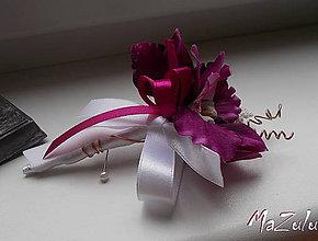 Pierka - svadobné pierko pre ženícha V. - 8767874_